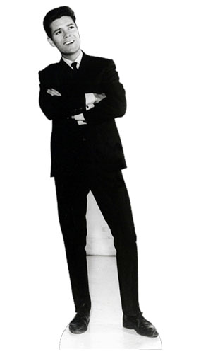 Cliff Richard Black & White Lifesize Cardboard Cutout - 178cm Product Gallery Image