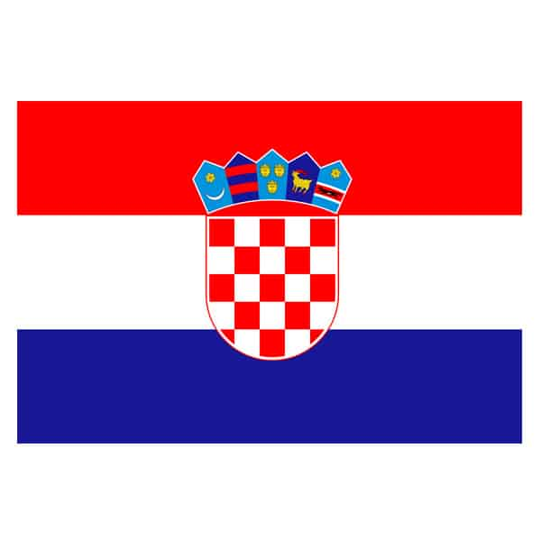 Croatia Flag - 5 x 3 Ft