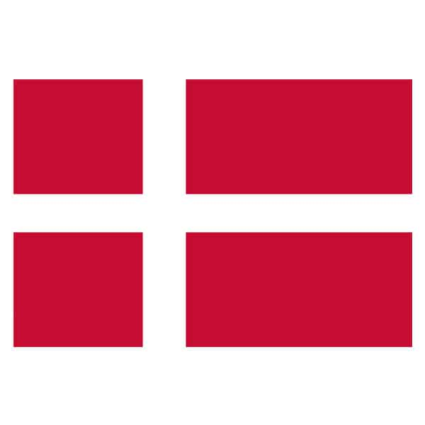 Denmark Flag - 5 x 3 Ft