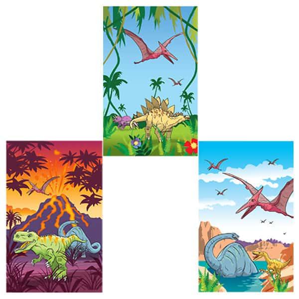 Assorted Mini Dinosaur Notebook Bundle Product Image