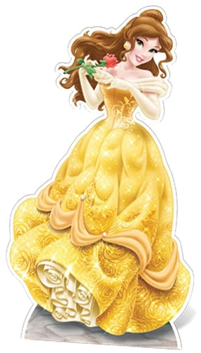 Disney Beauty & the Beast Belle Lifesize Cardboard Cutout - 163cm Product Image