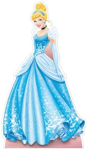 Disney Princess Cinderella Lifesize Cardboard Cutout - 176cm