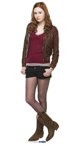 Dr Who Amy Pond Lifesize Cardboard Cutout - 176cm Product Gallery Image