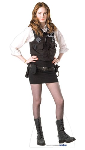 Dr Who Amy Pond Police Woman Lifesize Cardboard Cutout - 177cm Product Gallery Image
