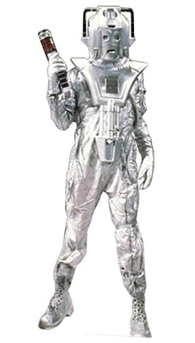 Dr Who Classic Cyberman Lifesize Cardboard Cutout - 183cm Product Gallery Image