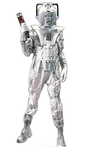 Dr Who Classic Cyberman Lifesize Cardboard Cutout - 183cm