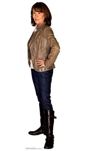 Dr Who Sarah Jane Smith Lifesize Cardboard Cutout - 162cm Product Gallery Image