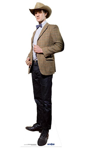 Dr Who The 11th Doctor Stetson Lifesize Cardboard Cutout - 180cm Product Gallery Image