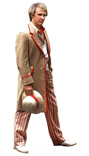 Dr Who The 5th Doctor Lifesize Cardboard Cutout - 178cm