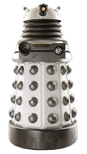 Dr Who White Supreme Dalek Lifesize Cardboard Cutout - 182cm Product Gallery Image