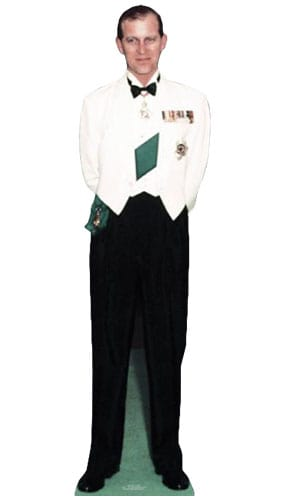 Duke Of Edinburgh 1956 Lifesize Cardboard Cutout - 156cm Product Gallery Image