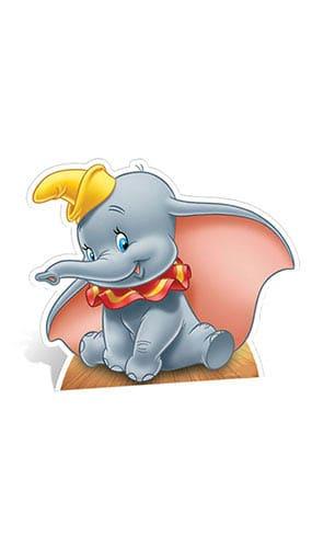 Dumbo Lifesize Cardboard Cutout - 74cm Product Gallery Image