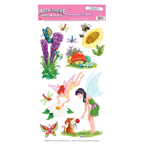 Fairies and Friends Peel-N-Place