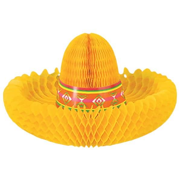 Fiesta Sombrero Centrepiece - 12 Inches / 30cm
