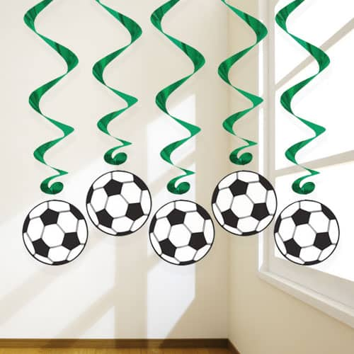 football diy horizontal decor full party decorations table