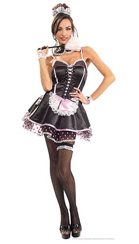 French Maid Lifesize Cardboard Cutout - 171cm Product Gallery Image