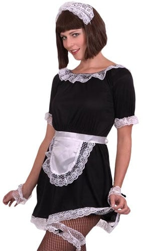 French Maid Instant Fancy Dress Kit