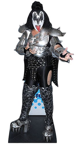 Gene Simmons Lifesize Cardboard Cutout - 186cm Product Gallery Image
