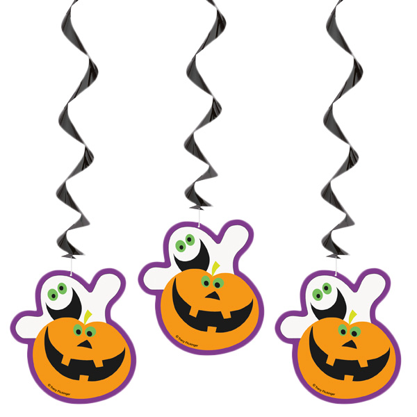 ghost-and-pumpkin-hanging-swirl-decorations-pack-of-3-product-image