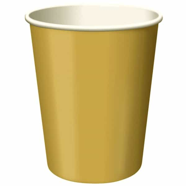 Gold Paper Cup - 9oz / 266ml Bundle Product Image