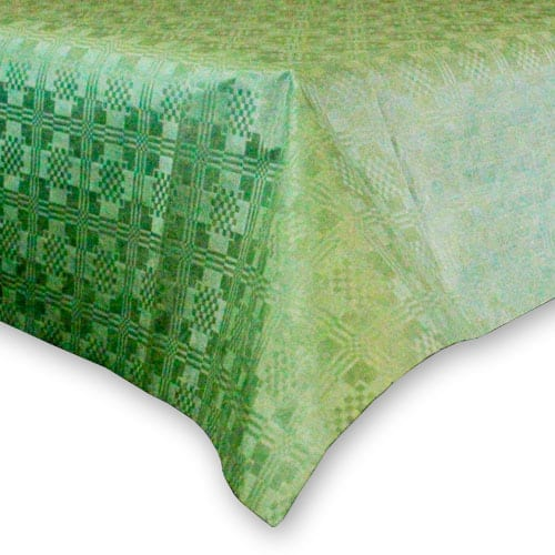 Green Paper Tablecover - 90cm x 90cm