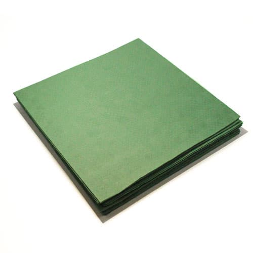 Green Paper Tablecovers - 90cm x 90cm - Pack of 25