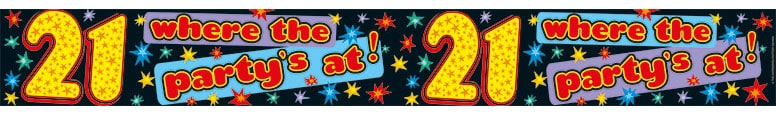 happy-21st-plastic-banner-8-5-ft-260cm-product-image