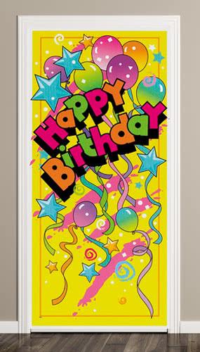Happy Birthday Door Poster Product Image