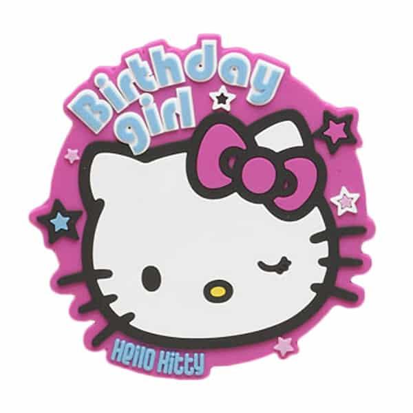 Hello Kitty Birthday Girl Jumbo Badge Product Image