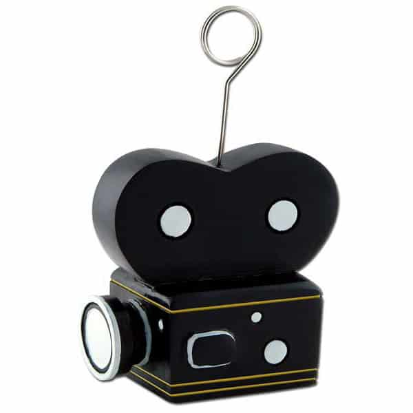 Hollywood Camera Balloons/Photo Holder - 4 Inches / 11cm