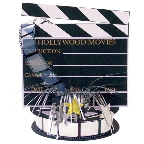 Hollywood Movie Set Centrepiece