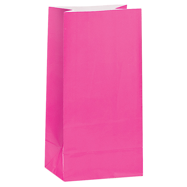 hot-pink-paper-party-bag-pack-of-12-product-image