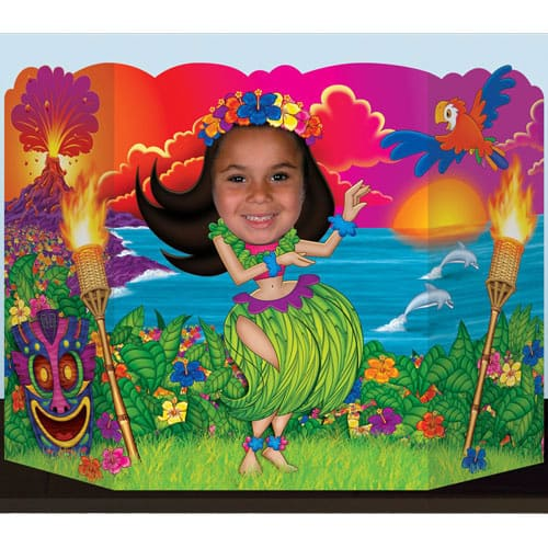 Hula Girl Photo Prop - 64cm Product Image