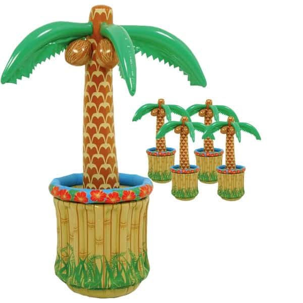 inflatable-palm-tree-table-top-cooler-pack-of-5-product-image