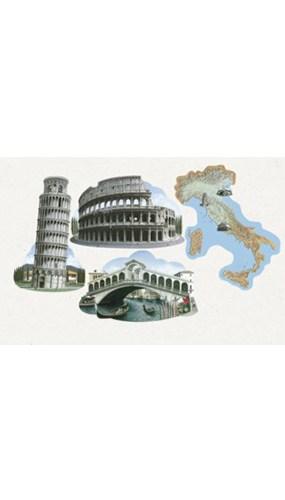 Italian Decorative Cutouts - 16 Inches / 41cm - Pack of 4
