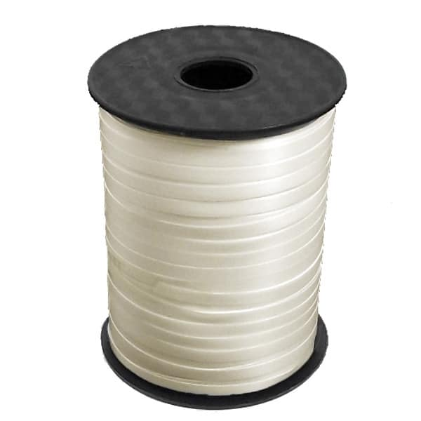 Ivory Curling Ribbon - 500 yd / 457m