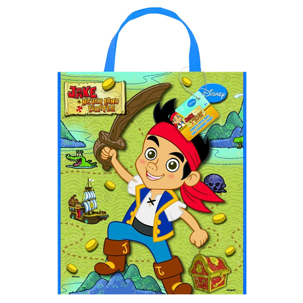 Jake And The Neverland Pirates Licensed Tote Bag - 13 x 11 Inches / 33 x 28cm