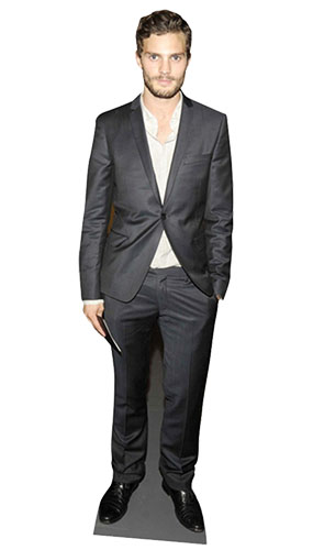 Jamie Dornan Lifesize Cardboard Cutout - 179cm Product Gallery Image