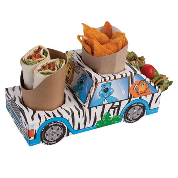 Jungle Jeep Combi Meal Box