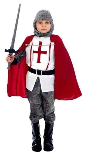 Knight Costume 4 – 6 Years Childrens Fancy Dress