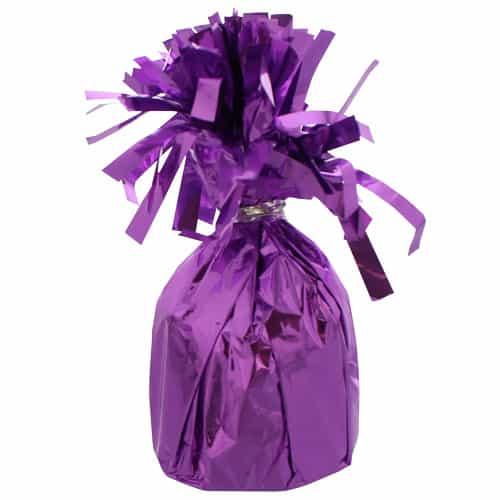 Lavender Foil Balloon Weight Product Image