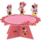 Licensed Disney Minnie Mouse Cake Stand