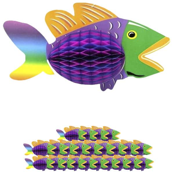 luau-12-inch-honeycomb-tropical-fish-hanging-decoration-pack-of-25-product-image