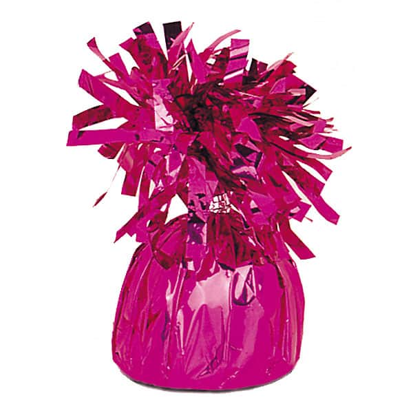 Magenta Foil Balloon Weights Bundle Product Image