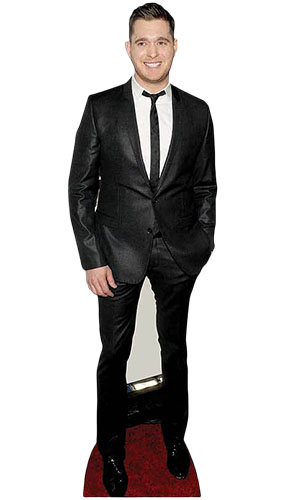 Michael Buble Lifesize Cardboard Cutout - 174cm Product Gallery Image