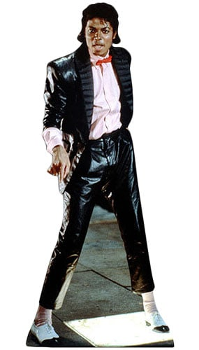 Michael Jackson Lifesize Cardboard Cutout - 178cm Product Gallery Image