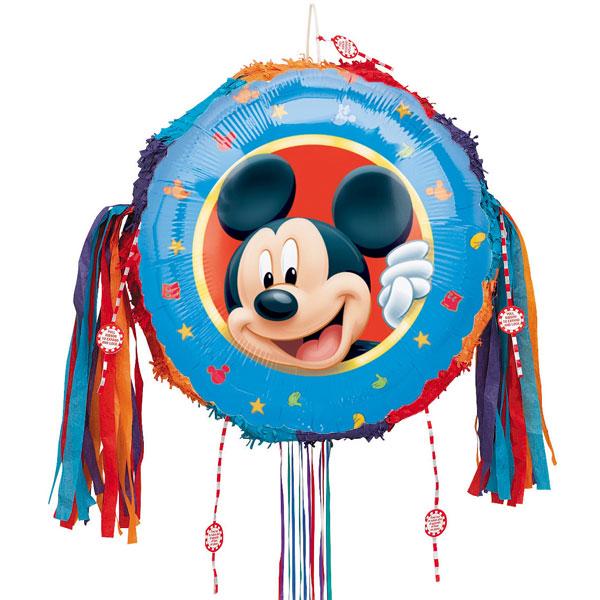 Mickey Mouse Pull String Pinata