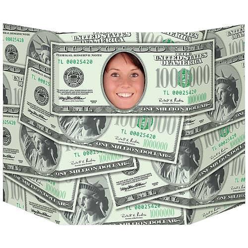 Million Dollar Smile Photo Prop - 64cm