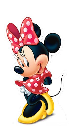 Minnie Mouse Lifesize Cardboard Cutout - 98cm Product Image