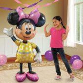 Minnie Mouse Airwalker Foil Helium Balloon 132cm / 52Inch
